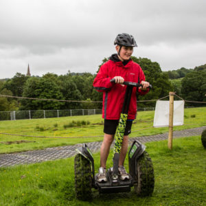 Children on segways