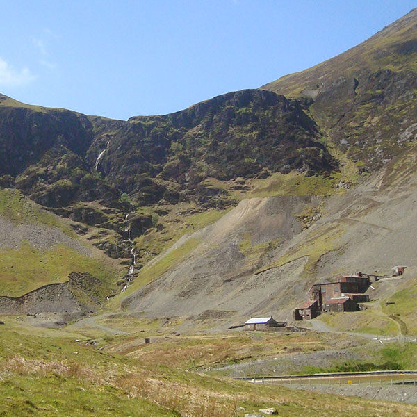 Slate Mines view from Coledale Challenge